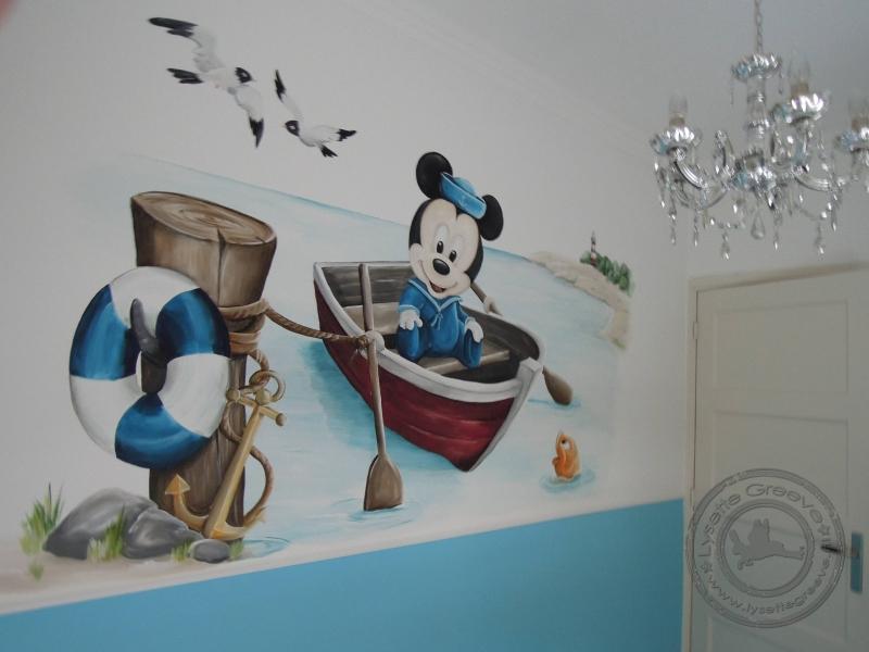 Bekend Babykamer Mickey Mouse VN51